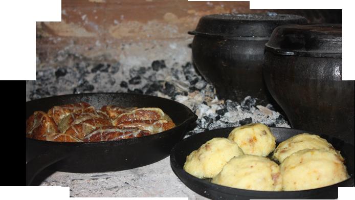 Блюда из русской печи