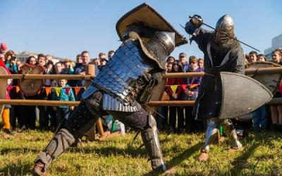 Выходные в духе  средневековья!